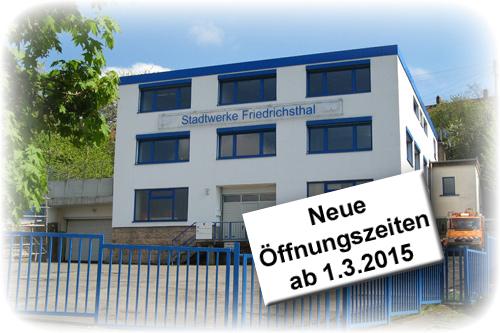 Gebäude Stadtwerke Friedrichsthal